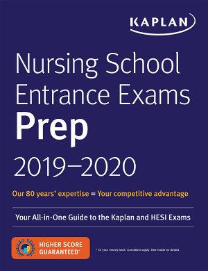 Nursing School Entrance Exams Prep 2019 2020