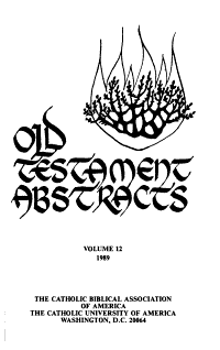 Old Testament Abstracts PDF
