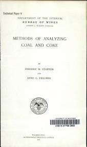 Methods of analyzing coal and coke