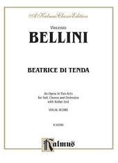 Beatrice di Tenda: Vocal (Opera) Score