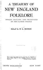 A Treasury of New England Folklore