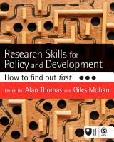Research Skills for Policy and Development PDF