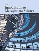 Introduction to Management Science PDF