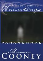 A Study Guide To Hauntings PDF