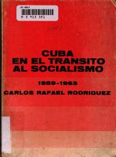 Cuba en el tr  nsito al socialismo  1959 1963 PDF