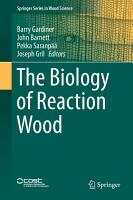 The Biology of Reaction Wood PDF