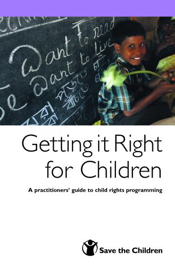 Getting it Right for Children PDF