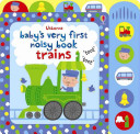 Baby's Very First Noisy Book Train Board Book