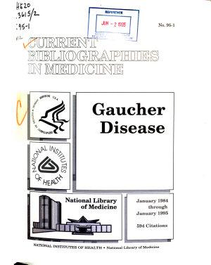 Current Bibliographies in Medicine PDF