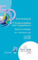 E Government ICT Professionalism and Competences Service Science PDF