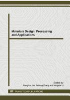 Materials Design  Processing and Applications PDF