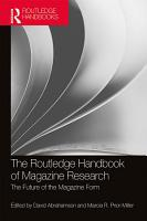 The Routledge Handbook of Magazine Research PDF