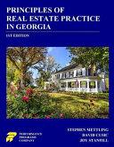 Principles of Real Estate Practice in Georgia Book