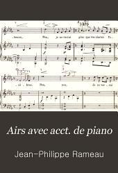 Airs avec acct. de piano: extraits des oeuvres complètes publiées sous la direction de C. Saint-Saëns, Volume1