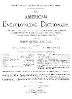 The American Encyclopaedic Dictionary PDF