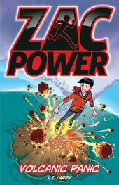 Zac Power Volcanic Panic