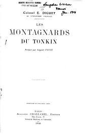 Les Montagnards du Tonkin