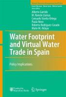 Water Footprint and Virtual Water Trade in Spain PDF