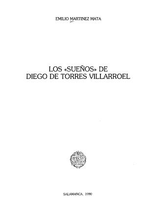 Los Suenos De Diego De Torres Villarroel