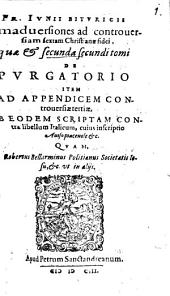 Animadversiones ad controversiam sextam christianae fidei