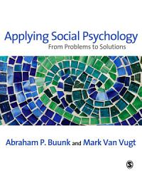 Applying Social Psychology Book PDF