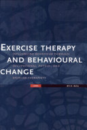Exercise Therapy and Behavioural Change PDF