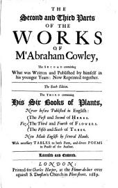 The Works Of Mr Abraham Cowley: Volume 2