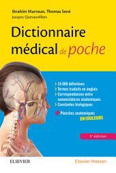 Dictionnaire médical de poche: Édition 3