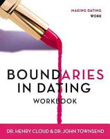 Boundaries in Dating PDF