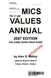Comics Values Annual 2007 PDF
