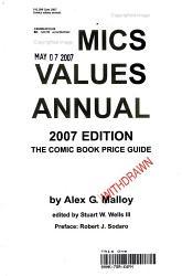 Comics Values Annual 2007 Book PDF