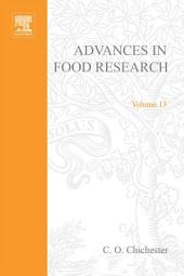 Advances in Food Research: Volume 13
