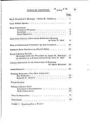 Wyoming Library Roundup PDF