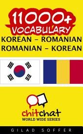 11000+ Korean - Romanian Romanian - Korean Vocabulary