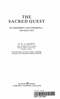 The Sacred Quest PDF