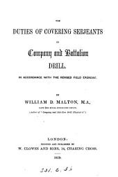 The duties of covering serjeants in company and battalion drill