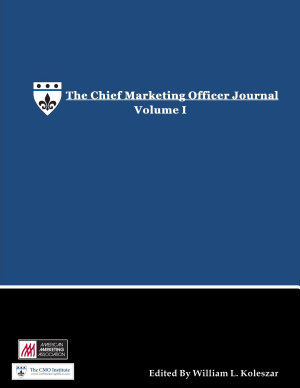The Chief Marketing Officer Journal   Volume I