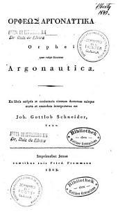 Orpheos Argonautika