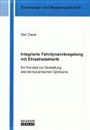 Integrierte Fahrdynamikregelung mit Einzelradaktorik PDF