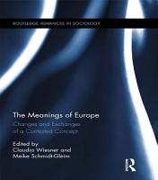 The Meanings of Europe PDF