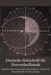 Deutsche Zeitschrift für Nervenheilkunde: Band 11