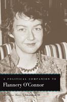 A Political Companion to Flannery O Connor PDF