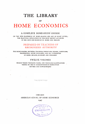The Library of Home Economics: Care of children
