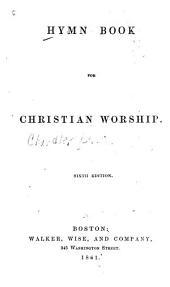 A Liturgy for Use in a Christian Church