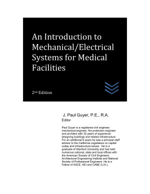 An Introduction to Mechanical Electrical Systems for Medical Facilities