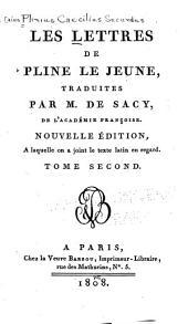 Les lettres de Pline le jeune: Volume2