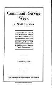 Community Service Week in North Carolina