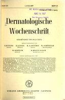 Dermatologische Wochenschrift PDF