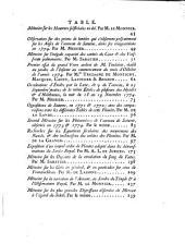 Histoire de l'Académie Royale des Sciences: avec les mémoires de mathématique et de physique pour la même année : tirés des registres de cette Académie. 1774 (1778)