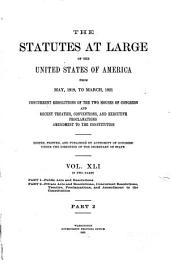 United States Statutes at Large: Volume 41, Part 2